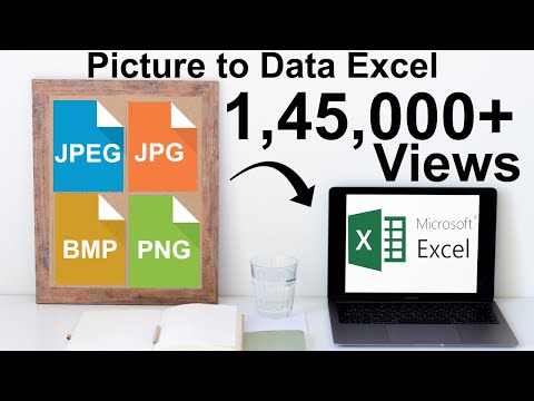 How to convert JPG or JPEG Data (Picture) to Excel in 3 Easy steps 2017