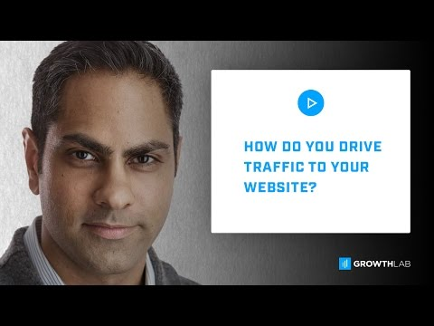 Ask Ramit -  How do you drive traffic to your website?