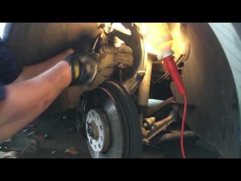Changing 2005 Volkswagen Passat Wagon Antilock Breaking Sensor (ABS)
