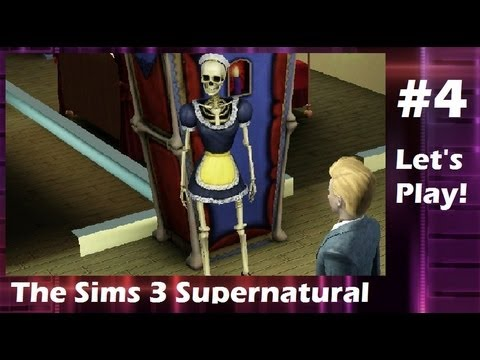 Let's Play: The Sims 3 Supernatural w/TheUltGamer19 - (Part 4) w/Commentary [Bonehilda]