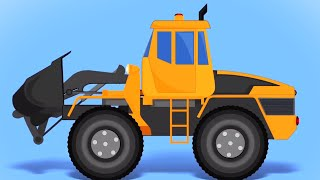 Transformer Bulldozer | Car Cartoon Videos for Children from Kids Tv Channel