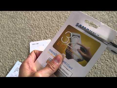 Unboxing Latest Real Samsung EVO MicroSD Card vs. FAKE Samsung EVO from eBay!