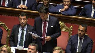 Crisi di governo, tutti gli attacchi di Conte a Salvini nel suo discorso al Senato
