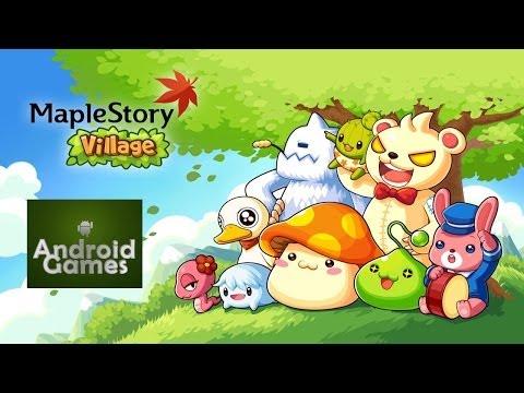 LINE MapleStory Village Official Trailer HD 720p