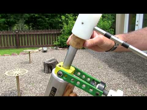 Home built 20 mm potato gun