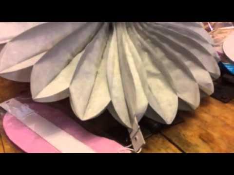 Sunbeauty 14 inch Paper Fans