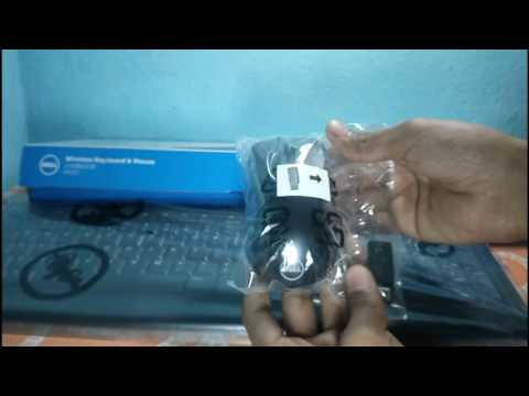 Dell KM113 Wireless Keyboard and Mouse Combo Unboxing