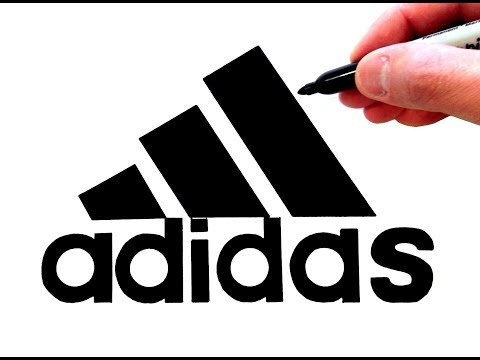 Drawn Famous Logos By Hand