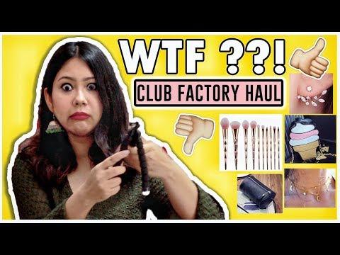 ✅CLUB FACTORY HAUL | OMG So Weird 😱| Online Shopping India |ThatQuirkyMiss