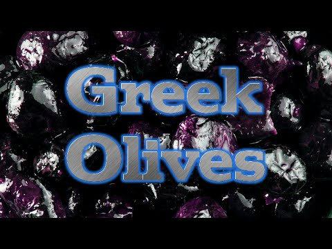 How To Make Greek Olives Edible with just Salt