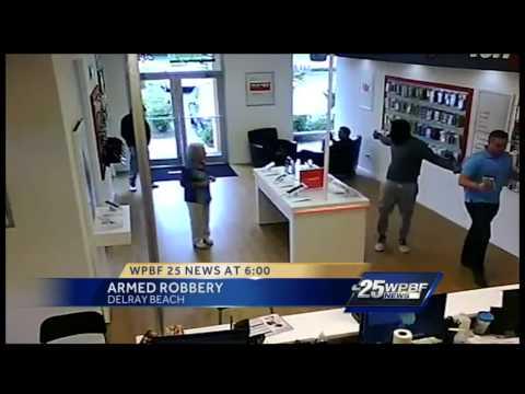 Verizon Wireless store robbed in Delray Beach
