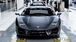 Lamborghini Manufacturing – The Dream Car Factory