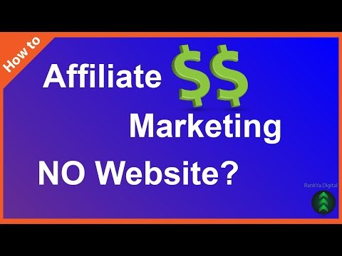 How to Start Affiliate Marketing with NO Website NO Investment