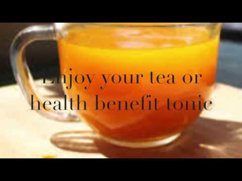 Best tasty Turmeric tea, Ginger and Honey to boost your  health