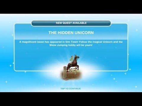 [The Sims Freeplay] - The Hidden Unicorn Görevi