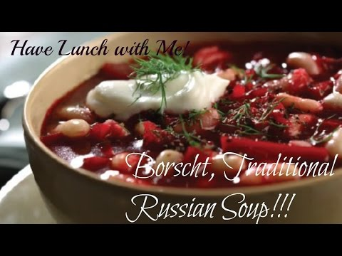 How to Borscht! A Traditional Russian Soup (Готовим Русский Суп Борщ )