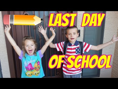After School Routine - LAST DAY OF SCHOOL