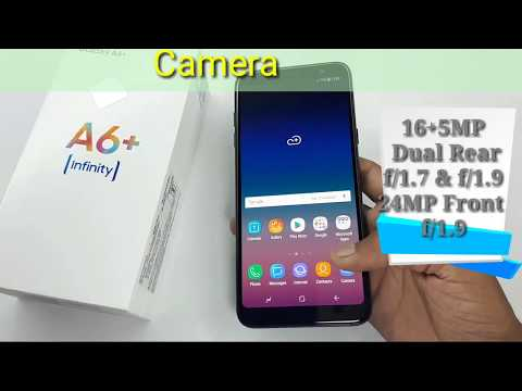 Samsung Galaxy A6+ (Plus) Unboxing And Review