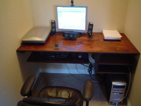 Floating Computer Desk