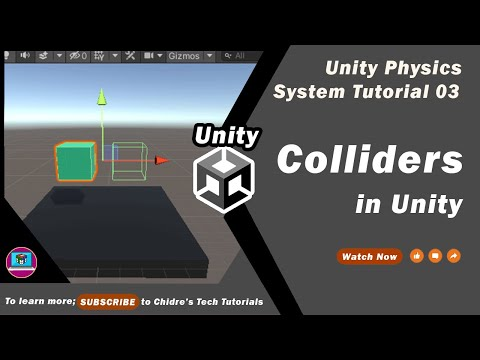 Unity Physics System Essentials - 03 - Colliders Introduction