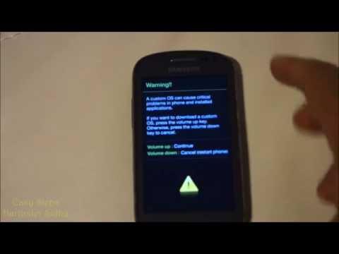 How to put Samsung Galaxy Exhibit Download Mode   metroPCS