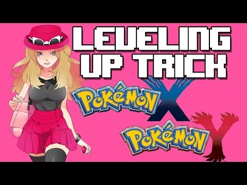 Pokemon X/Y - Level Up Trick (Quick Ball method) Leveling up fast with Dj CUTMAN