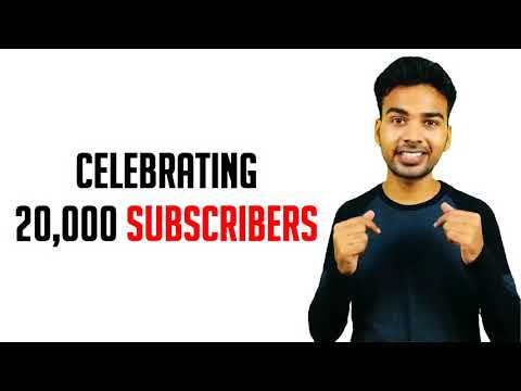 Celebrating 20K Subscribers | Thanks for your love and support 😍😯😍