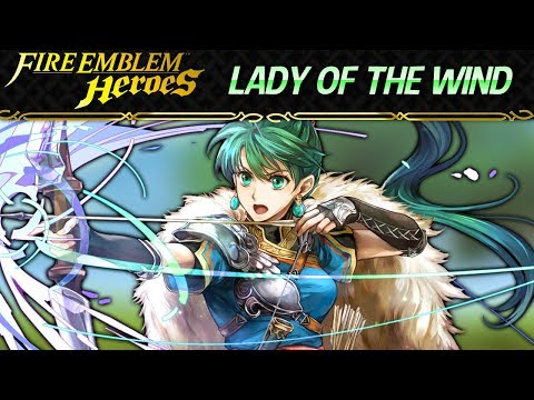 Fire Emblem Heroes - Lyn Lady of the Wind INFERNAL+Lunatic [No Skill Inheritance] - Special Map