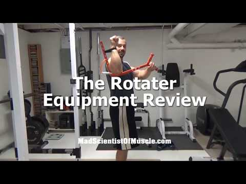 The Rotater Review - Shoulder Rehab, Mobility and Strengthening Equipment