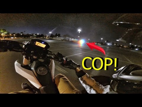 POLICE CAUGHT ME IN A WHEELIE!!