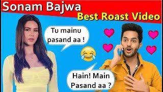SONAM BAJWA | Latest Punjabi Songs roast video | Prince Dhimann
