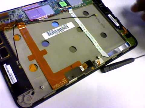 Kindle HD 8 9 Repair   Removing the Flex Cable