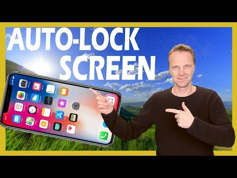How to Auto Lock the Screen timeout on iPhone and iPad