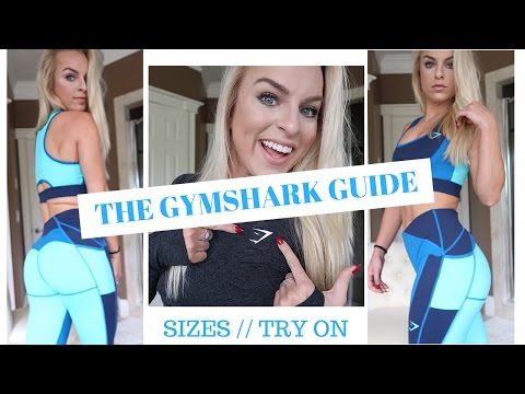 GYMSHARK BUYING GUIDE | What Size & Try-On