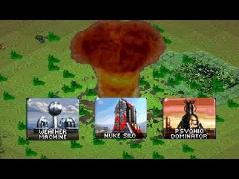 Red Alert 2: Yuri's Revenge - Prism Towers vs Tesla Coils