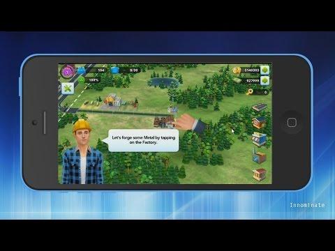 SimCity BuildIt Hack Gold Coins & Sim Cash - iPhone