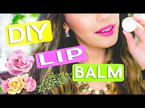 DIY | 5 Minute Lip Balm Gloss (VEGAN Alternative) | How to Make Lip Balm at Home | Himani Wright