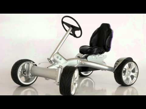 pedal go-kart concept