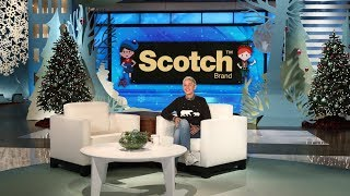 Ellen Kicks Off Scotch Brand