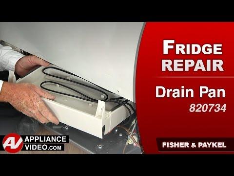 Fisher & Paykel Drain Pan heater replacement repair & diagnostic