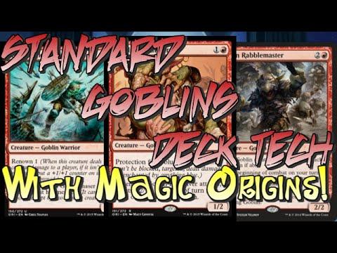 Mtg Deck Tech: Mono-Red Goblins (Post-Magic Origins)