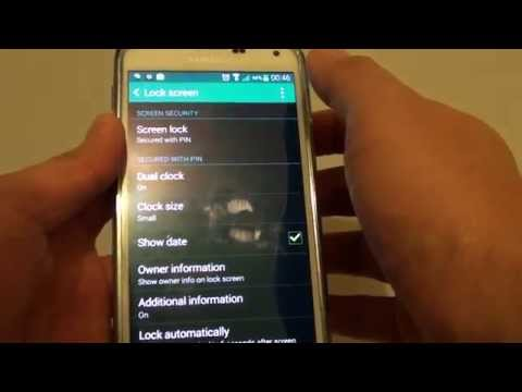 Samsung Galaxy S5: Fix Issues With Cannot Remove PIN/Password