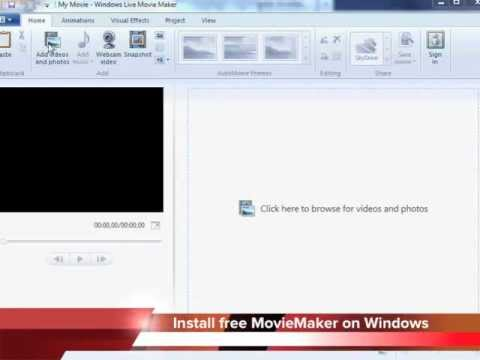Create Video Presentation with MovieMaker