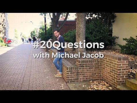#20Questions with Egyptian Fulbrighter Michael Jacob for International Education Week