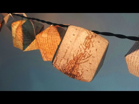 How To Fold Origami Paper Lanterns
