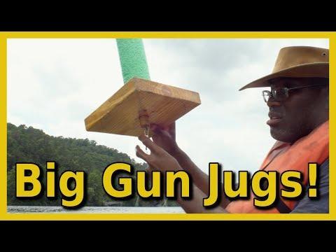 Big Gun Catfish Jugs in Action