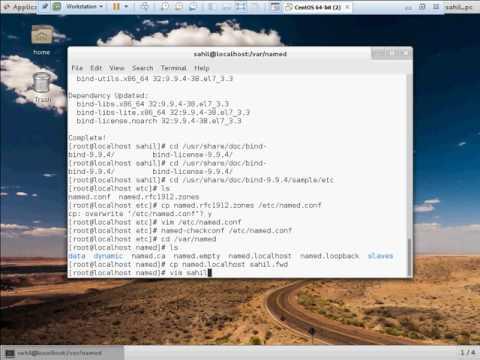 2.Installing DNS Server CentOS 7