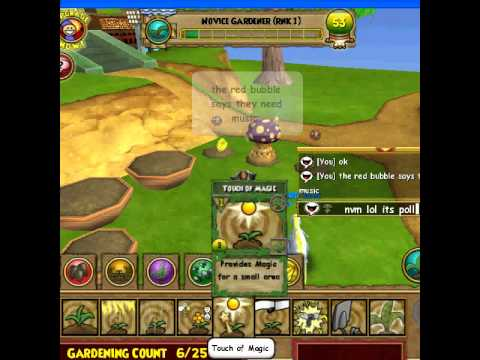 Wizard101 Gardening Tutorial