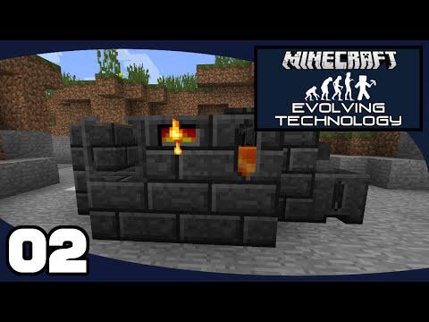 Evolving Technology - Ep. 2: Tinker's Smeltery | Evolving Technology Minecraft Modpack