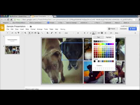 How to add a custom background to Google Slides